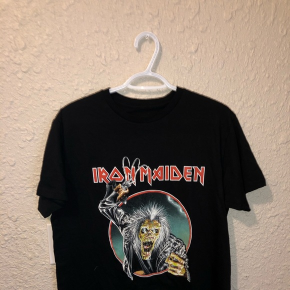 VINTAGE IRON MAIDEN T SHIRT